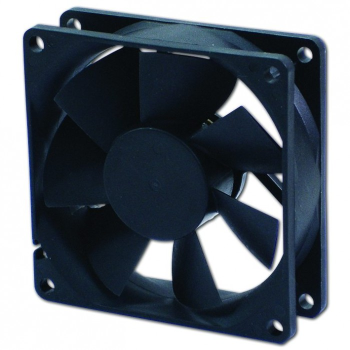 Evercool Вентилатор Fan 80x80x25 2Ball (1400 RPM) EC8025LL12BA
