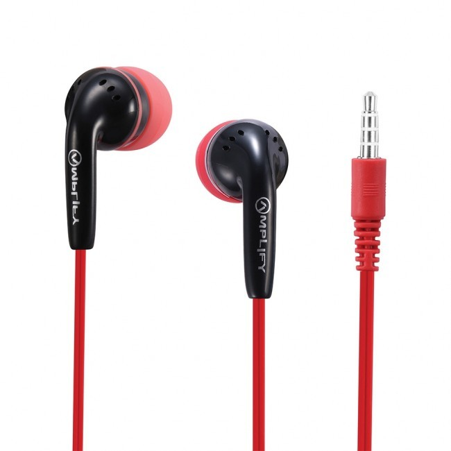 Amplify слушалки Revolutionary In-earphones black&red - AM-1002-BKRD