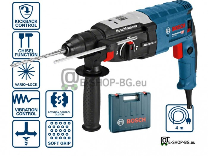 Перфоратор с SDS-plus GBH 2-28 880 W 3,2 J BOSCH