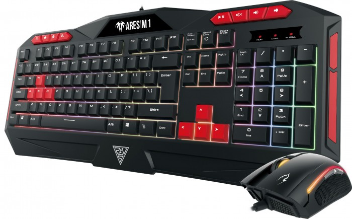 Gamdias геймърски комплект Gaming COMBO - ARES M1 + ZEUS E2 - Keyboard + Mouse