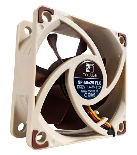 Noctua Вентилатор Fan 60x60x25mm 3000/2400/1600rpm NF-A6x25 FLX
