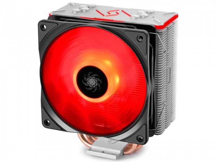 DeepCool CPU Cooler GAMMAXX GT -  RGB Aura Sync - 2066/2011/1366/1150/1151/1155/1156/AM4/AMD