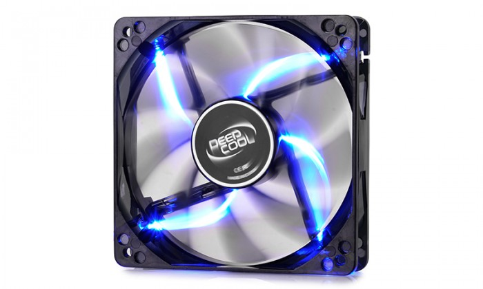 DeepCool Вентилатор Fan 120mm Blue LED - WIND BLADE 120 - 1300rpm