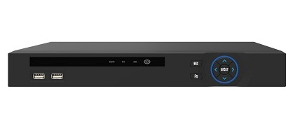 Longse NVR 8CH with PoE/2xSATA/up to 12TB/Black - LS-N2008AT