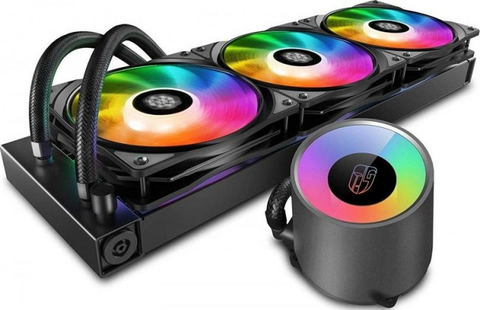 DeepCool водно охлаждане Water Cooling CASTLE 360 RGB V2 - Addressable RGB