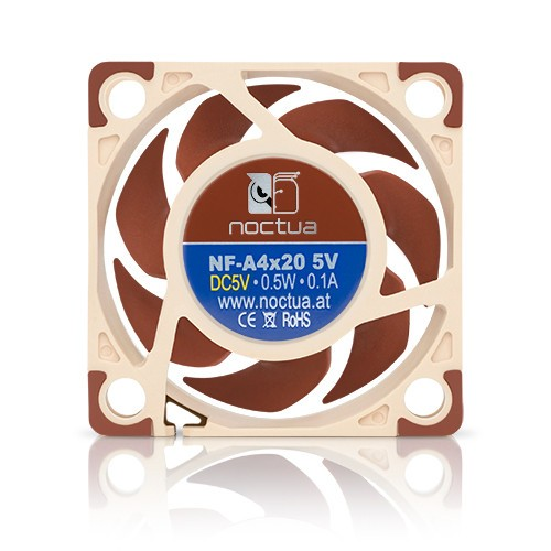Noctua Вентилатор Fan 40x40x20mm 5V 5000rpm - NF-A4x20-5V